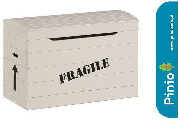Skrzynia Toy Box Pinio bez napisu + napis Fragile