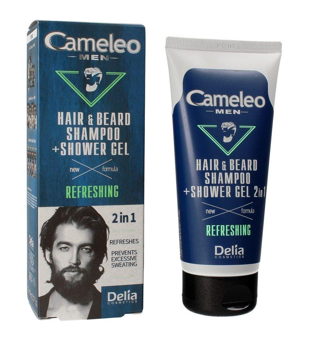 Delia Delia Cosmetics Cameleo Men Szampon i żel pod prysznic 2w1 Refreshing 150ml