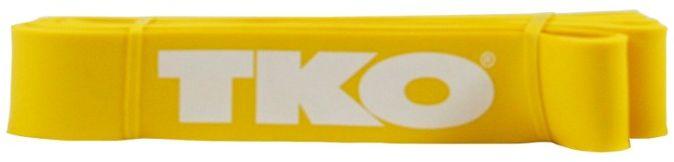 Taśma do ćwiczeń 105cm średnia 3120 TKO Żółta