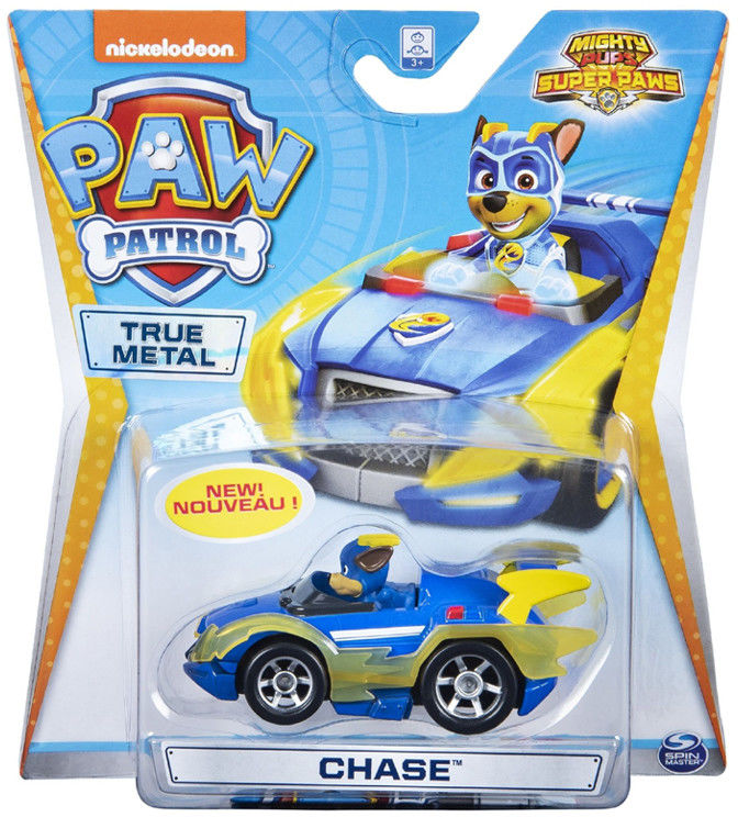 Psi Patrol - Chase i jego pojazd True Metal 20115879 6053257