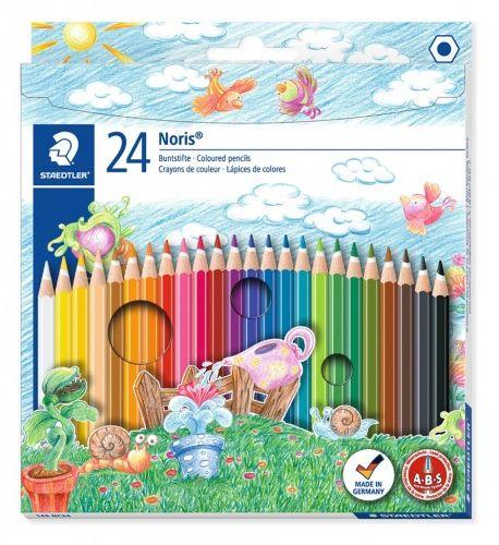 Kredki ołówkowe STAEDTLER Noris Club (24 kolorów ) 144 NC24