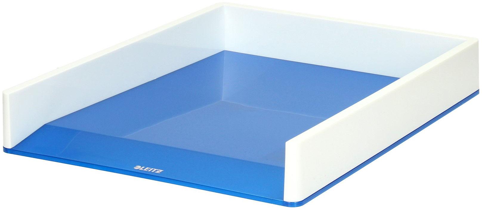 Półka dokumenty A4 biało/niebieska Wow Leitz