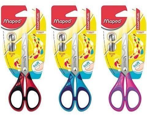 Nożyczki Essentials Soft 13cm MAPED