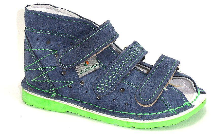 DANIELKI II jeans zielony