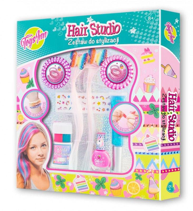 Zestaw do włosów Hair studio z pasemkami