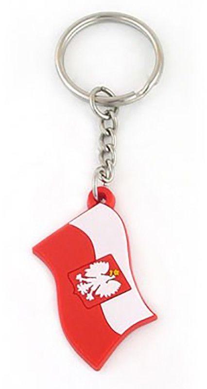 Brelok gumowy - flaga Polski