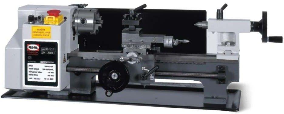 Minitokarka z odczytem cyfrowym Proma SM-350D 450W