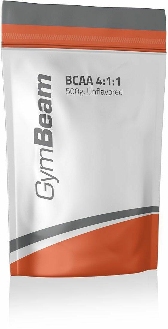 GymBeam Aminokwasy BCAA 4:1:1 Instant 250 g bez smaku