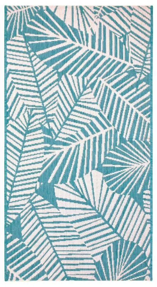 Dywan zewnętrzny Haiti niebieski 120 x 170 cm
