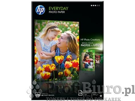 Papier HP Q5451A fotograficzny Everyday Glossy Photo błyszczący - 200 g/m2 - A4 - 25 szt.