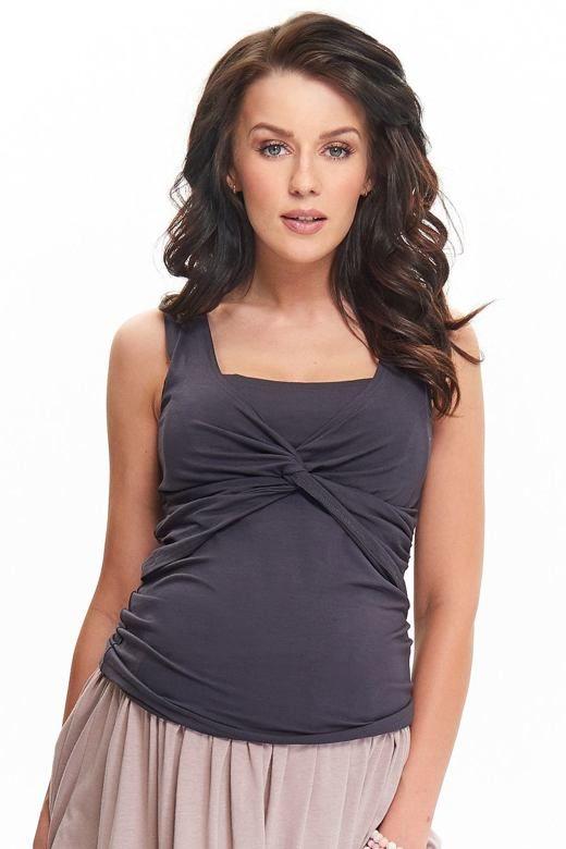 Koszulka ciążowa i do karmienia Zoja