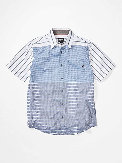 Marmot Syrocco męska koszula z krótkim rękawem niebieski niebieski S