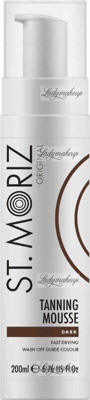 ST. MORIZ - Tanning Mousse - Samoopalacz w musie - Dark - 200 ml