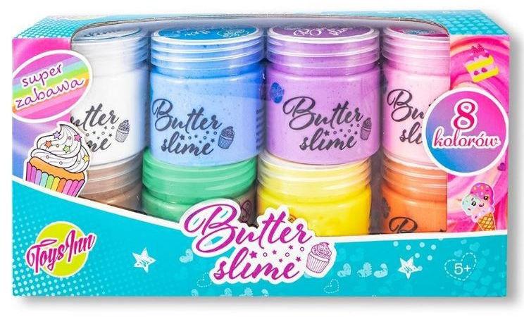 Masa Butter Slime zestaw 8x50g