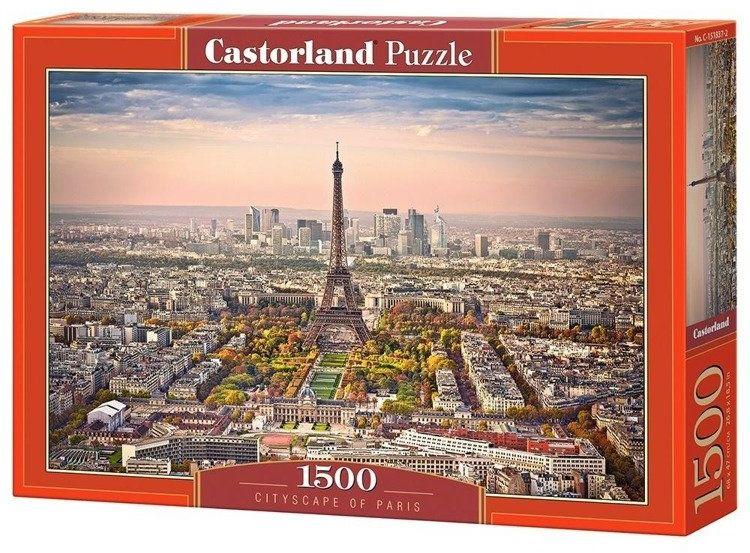 Puzzle 1500 Krajobraz Paryża CASTOR - Castorland