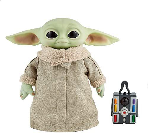 "Mattel Collectible - Star Wars, The Mandalorian: The Child 12"" RC Plush (Baby Yoda)"