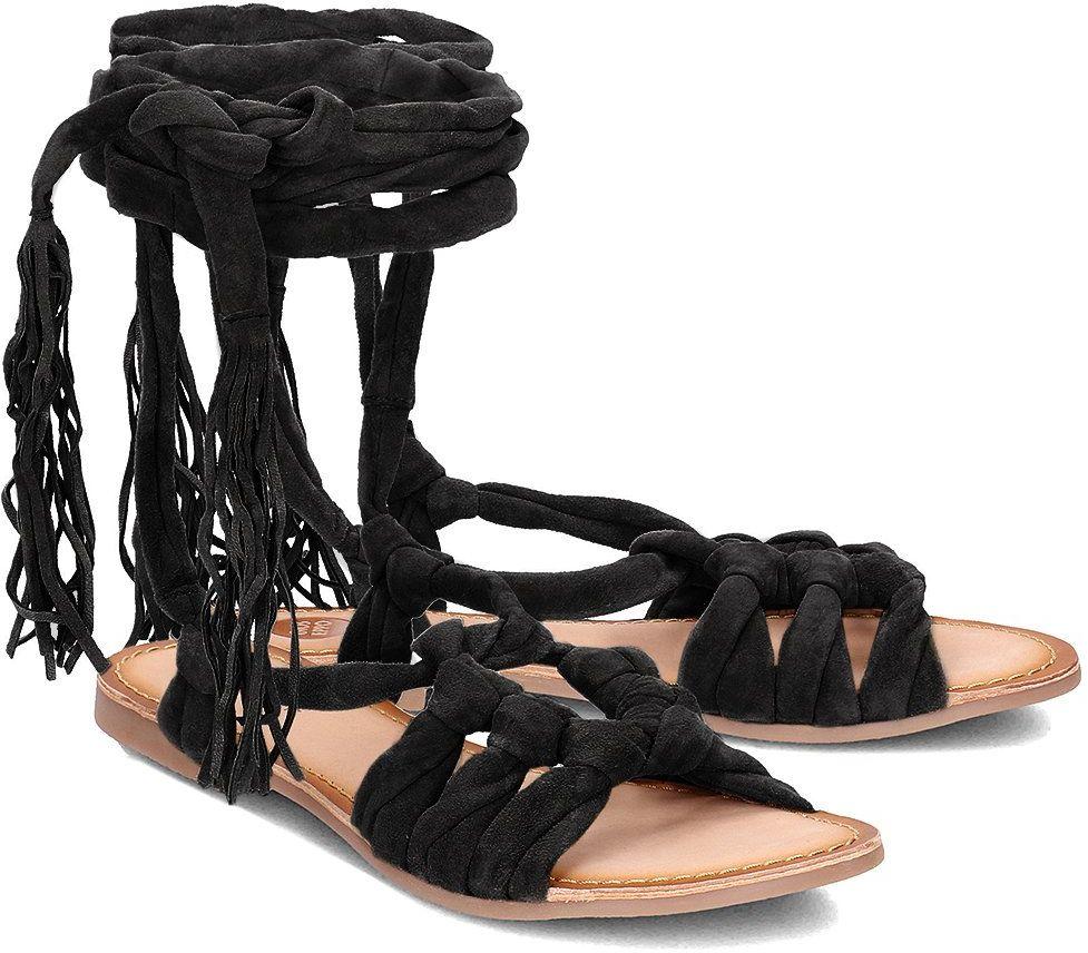Gioseppo Aladina - Sandały Damskie - 40435-02 BLACK - Czarny