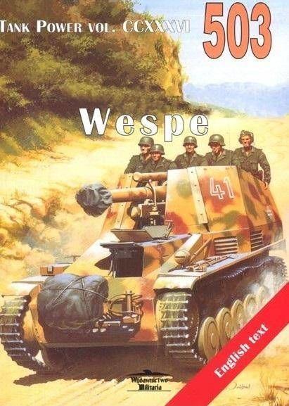 Wespe. Tank Power vol. CCXXXVI T.503 - Janusz Ledwoch