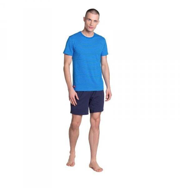 Piżama męska henderson lane 38873 niebieska