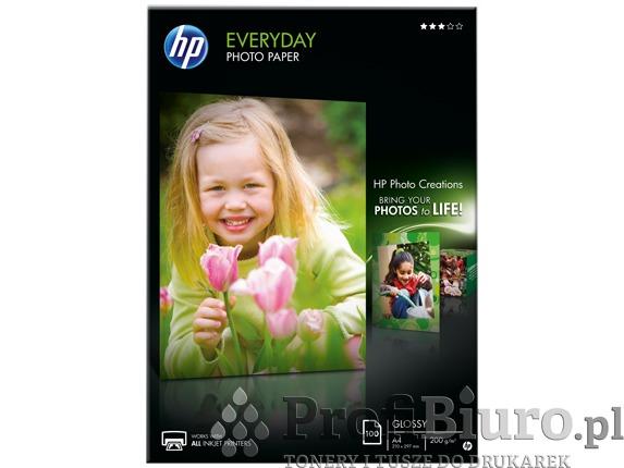 Papier HP Q2510A Everyday Glossy Photo Paper - 200 g/m2 - A4 - 100 szt.