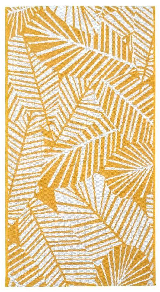 Dywan zewnętrzny Haiti żółty 160 x 230 cm