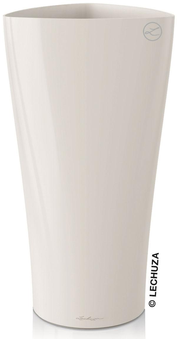 Donica Lechuza DELTA 40/75 biały połysk