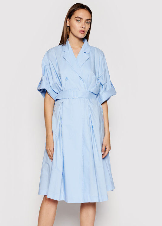 Imperial Sukienka koszulowa ABVNBGV Niebieski Regular Fit