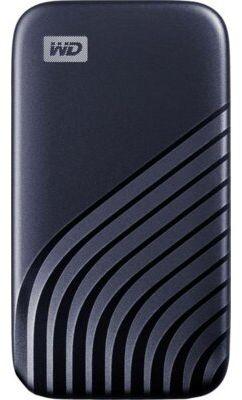 Zewnętrzny dysk WD My Passport SSD 500GB Niebieski WDBAGF5000ABL-WESN