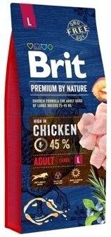 BRIT - Premium by nature adult L pies 15kg