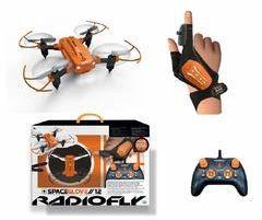 ODS - SpaceGlove 12 Radiofly dron RC Quadrocopter kolor pomarańczowy czarny, 40009