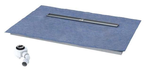 Schedpol brodzik posadzkowy podpłytkowy ruszt Steel 120x90x5cm 10.011/OLDB/SL
