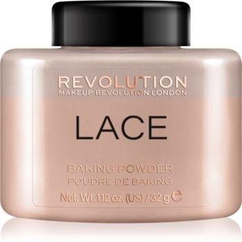 Makeup Revolution Baking Powder puder sypki odcień Lace 32 g