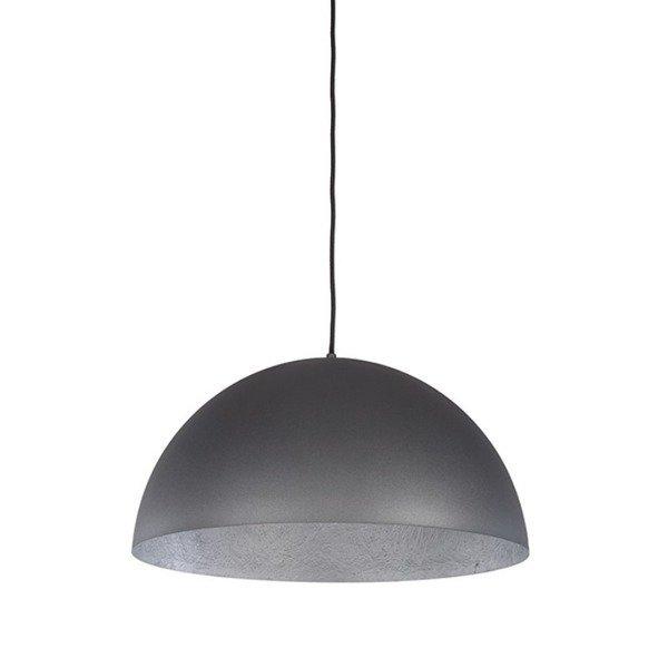 Lampa wisząca SFERA srebrna 35cm