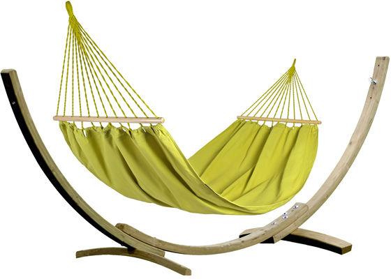 Zestaw tęczowy, Parakeet Green Hamak HS-303 + stojak Aztek