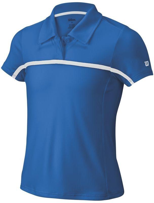 Wilson Team Polo - new blue