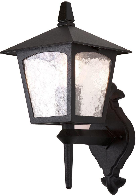 Kinkiet zewnętrzny York BL5 Elstead Lighting klasyczna oprawa ścienna w kolorze czarnym