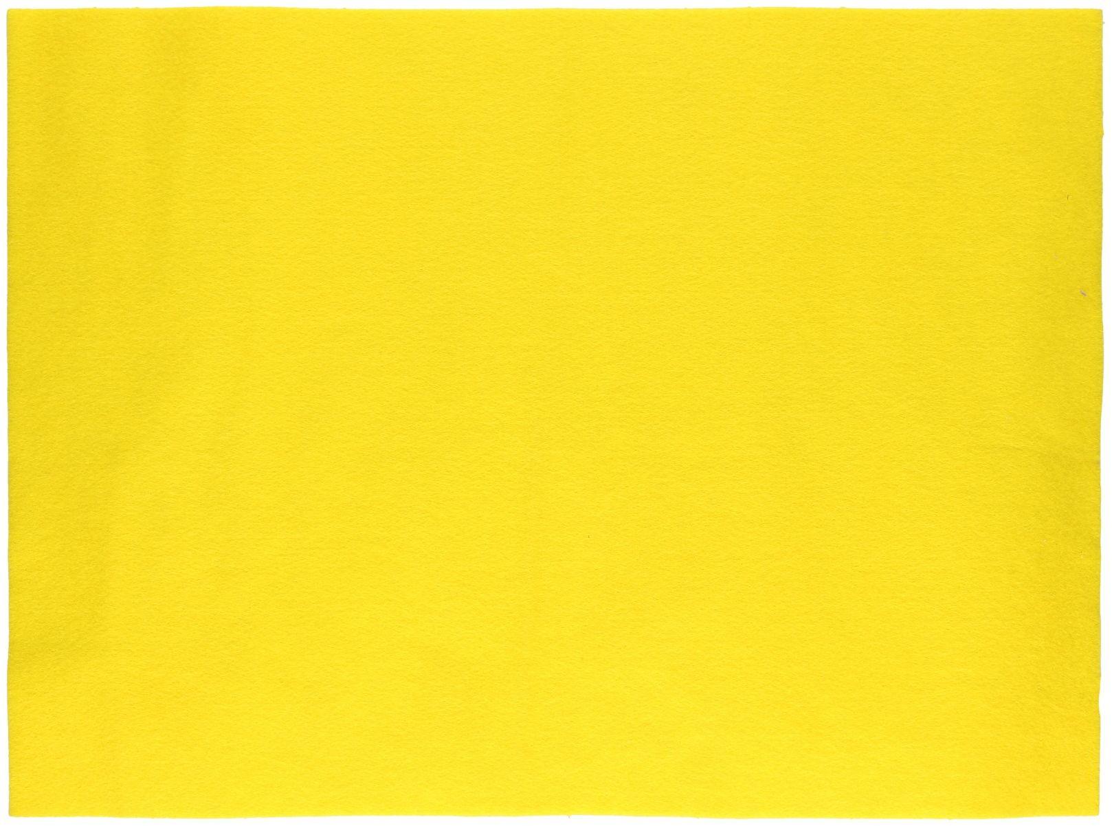 Filc samoprzylepny 30x40 żółty