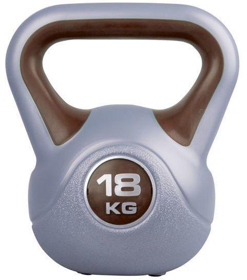 Hantla winylowa Kettlebell Insportline 18 kg