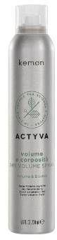 Kemon Actyva Volume E Coposita Dry Volume Spray Suchy Spray Nadający Włosom Objętość i Teksturę 200ml