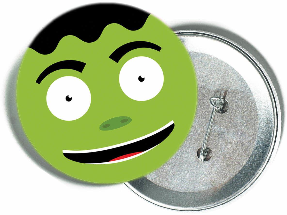 Przypinka Frankenstein - 1 szt.