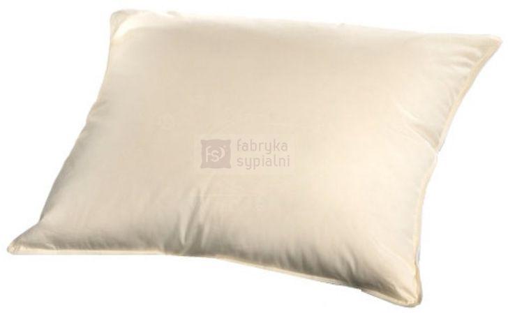 Poduszka ORGANIC COTTON trzykomorowa puch 90%