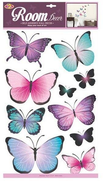 Dekoracje ścienne - Motyle 1
