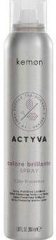 Kemon Actyva Colore Brillante Color Protection Spray Ochronny Spray Wzmacniający Połysk do Włosów Farbowanych 200ml