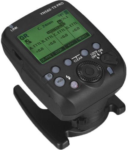 Yongnuo YN560-TX Pro - kontroler radiowy lamp reporterskich, Nikon Yongnuo YN560-TX Pro Nikon