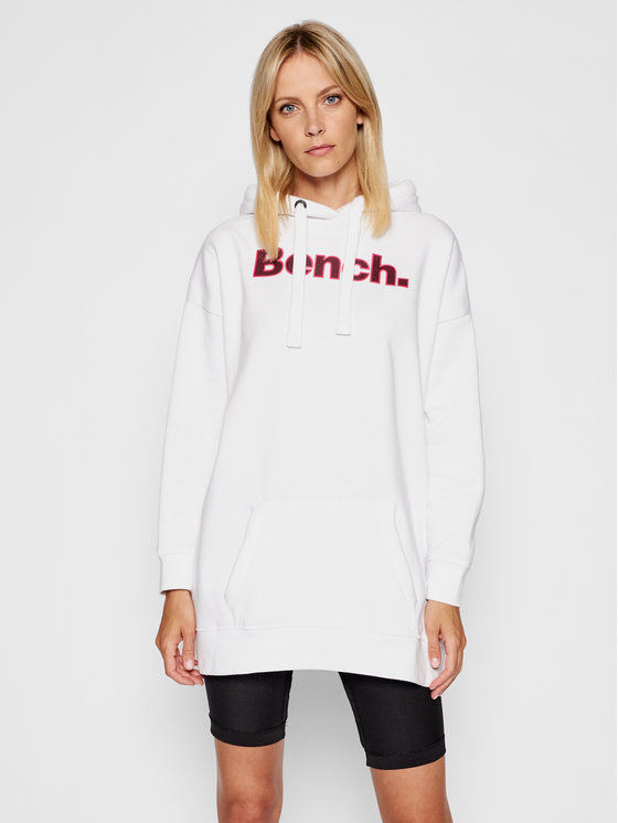 Bench Sukienka dzianinowa Dayla 117442 Biały Regular Fit