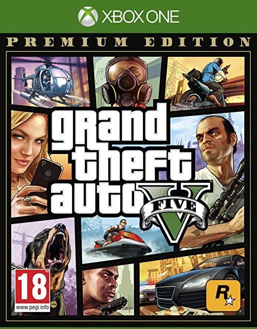 Grand Theft Auto V Premium Edition - [Xbox One][AT-Pegi]  wersja niemiecka