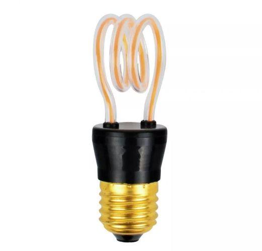 Dekoracyjna żarówka spirala LED DECORATIVE BULB 4W E27