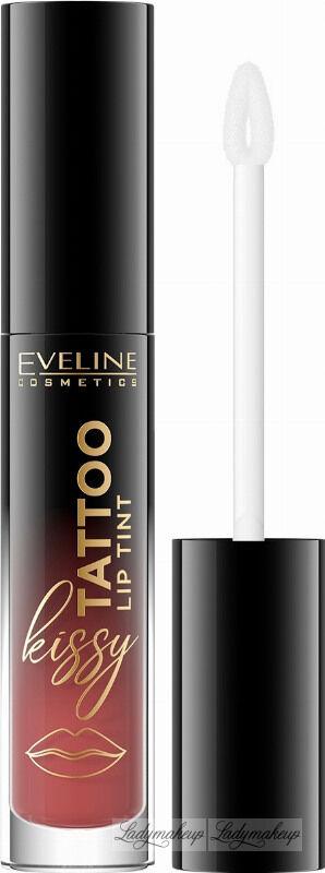 Eveline Cosmetics - Kissy Tattoo Lip Tint - Długotrwała pomadka do ust w płynie - 4,5 ml - 05 NUDE PEACH