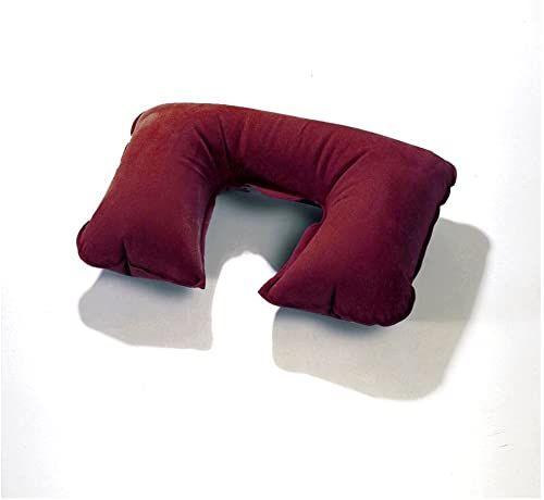 BasicNature Poduszka na szyję -530107 poduszki na szyję bordowo-czerwony jeden rozmiar