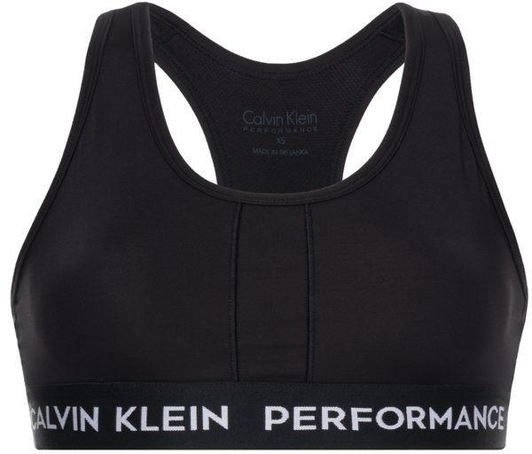 Calvin Klein Performance Biustonosz top 00GWS8K116 Czarny